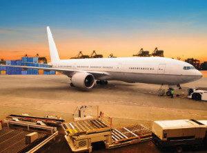 Sneltransport per vrachtvliegtuig